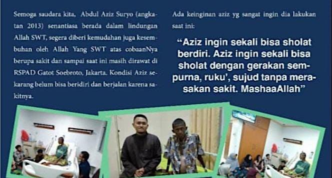 Bantu Aziz yang ingin sekali Sholat tanpa meraa sa