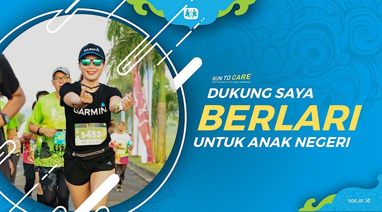 Gladies berlari 150KM untuk Mimpi Anak Indonesia