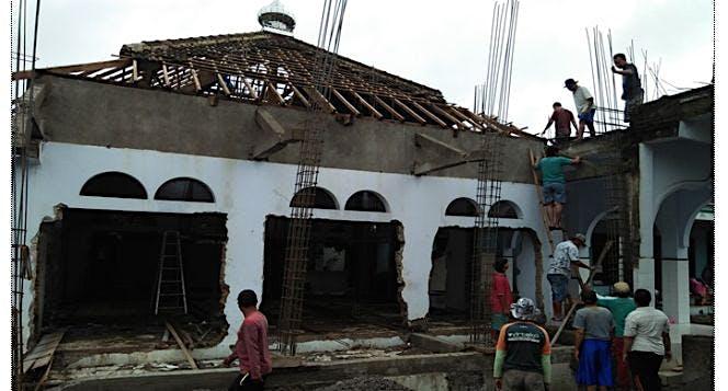 Bantu Renovasi & Pengembangan Masjid Nurul Huda