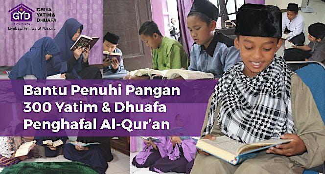 Pangan Untuk Penghafal Qur'an Yatim & Dhuafa