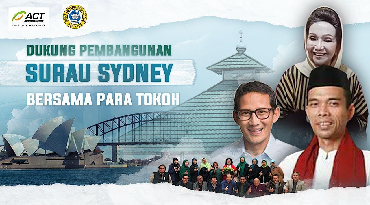 Bangun Surau Indonesia Pertama di Australia