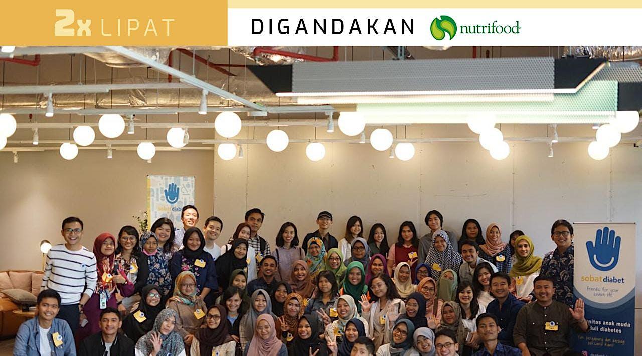 Dukung Sobat Diabet Menekan Diabetes di Indonesia