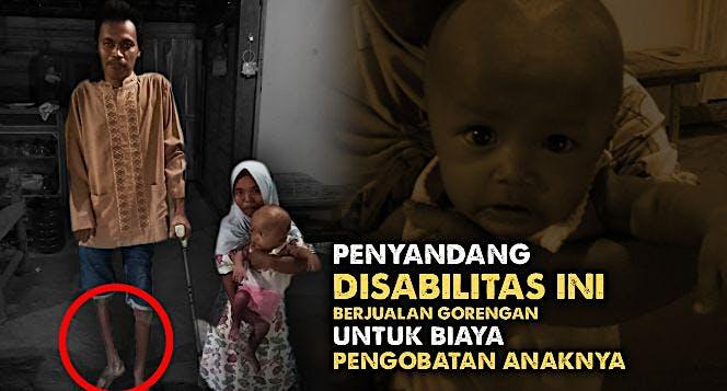 Keluarga Penyandang Disabilitas Ini Butuh Bantuan