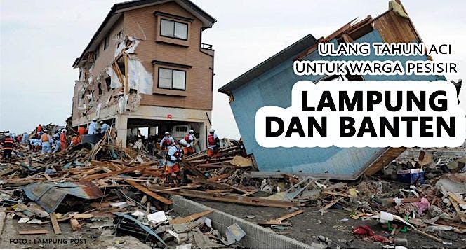 Bantu Korban Bencana di Banten dan Lampung