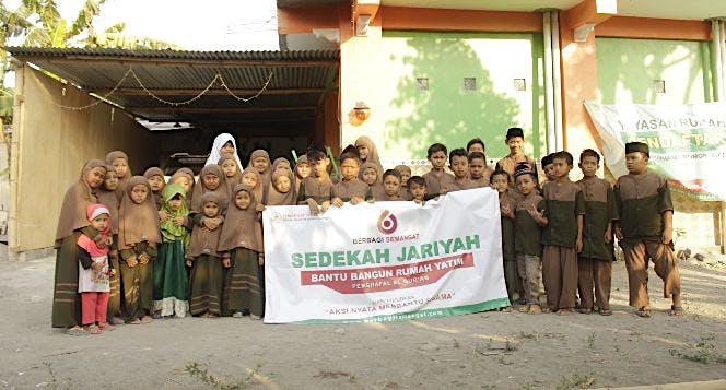 Bangun Yayasan Berbagi Semangat
