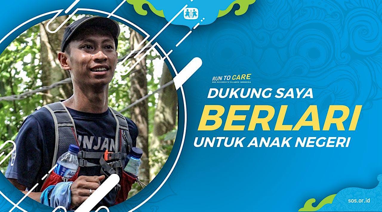 Rachmawan berlari 150KM untuk Mimpi Anak Indonesia