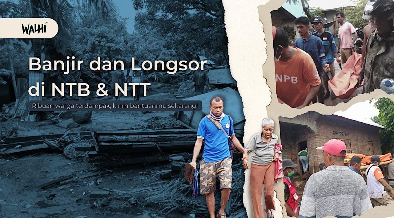 Bantu Korban Bencana Ekologis di NTB & NTT