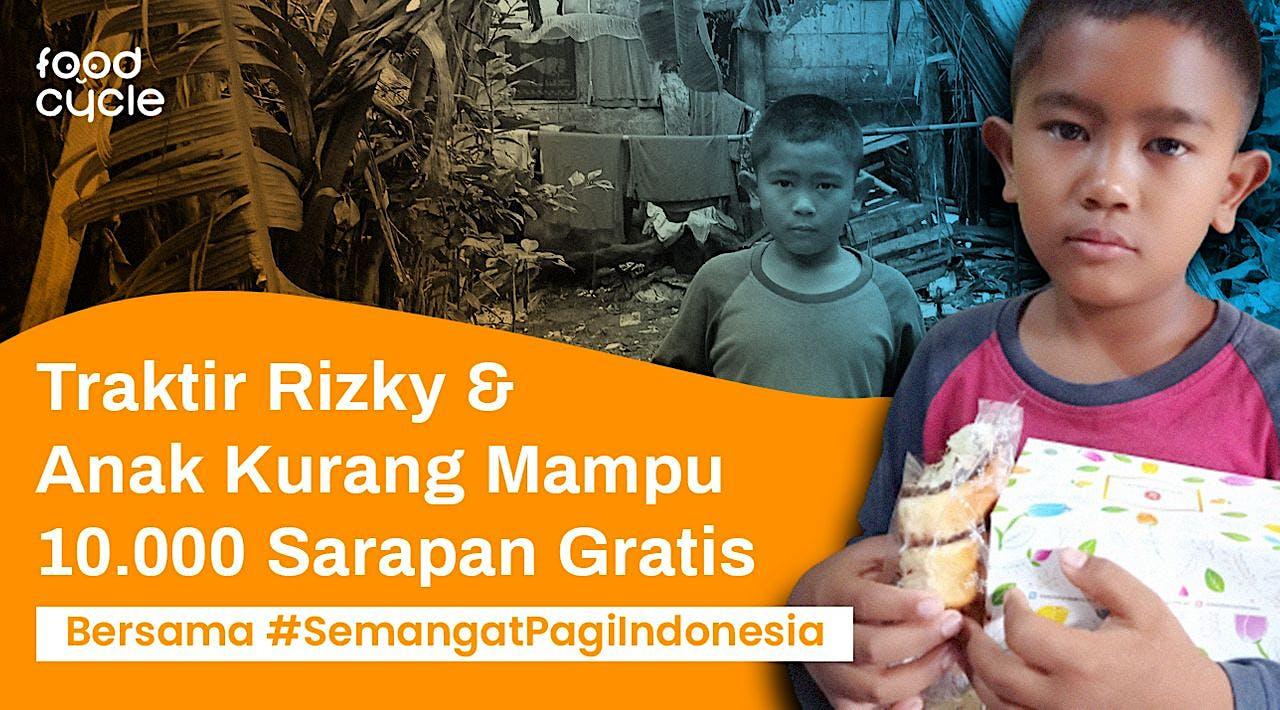 #SemangatPagiIndonesia Bagi Sarapan untuk Dhuafa