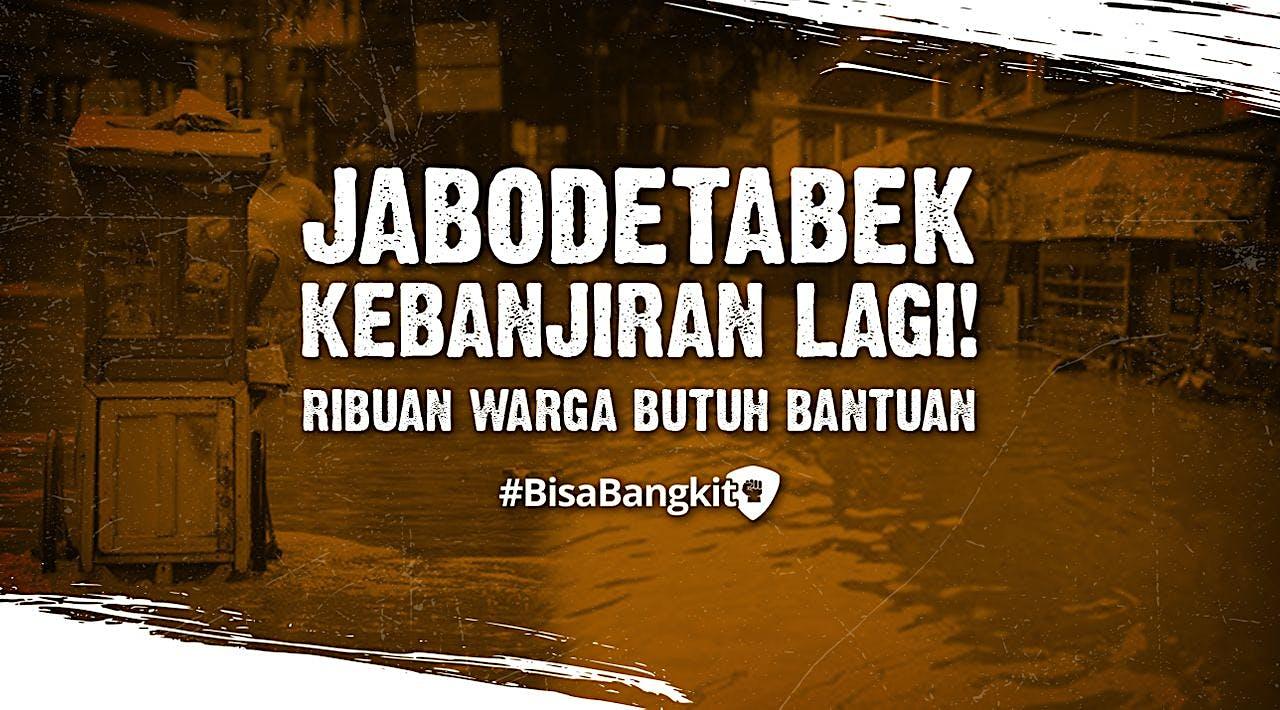 Banjir Rendam Jabodetabek Lagi, Ribuan Terdampak!