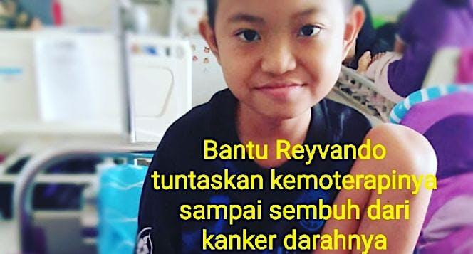 Bantu Reyvando untuk melawan kanker darah
