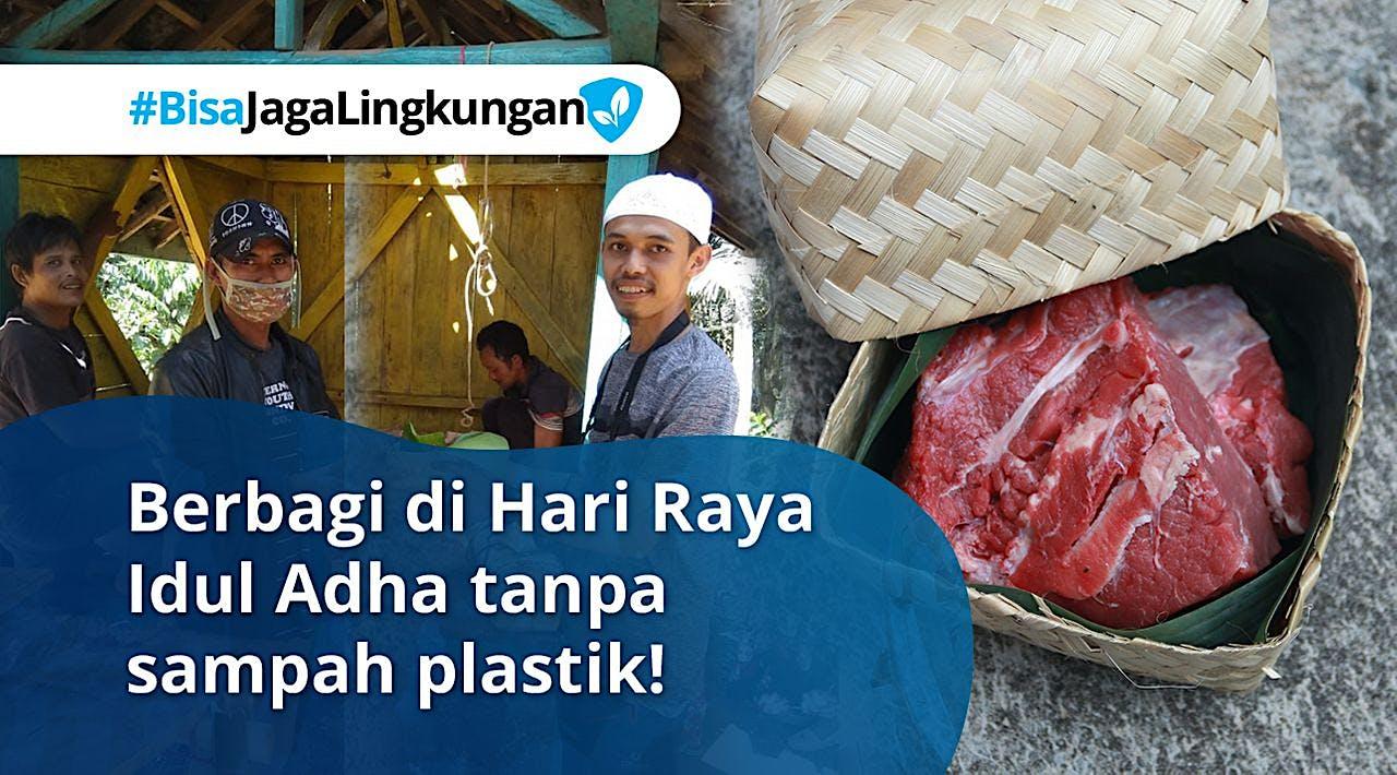 Kurangi Sampah Plastik, Sekaligus Berbagi