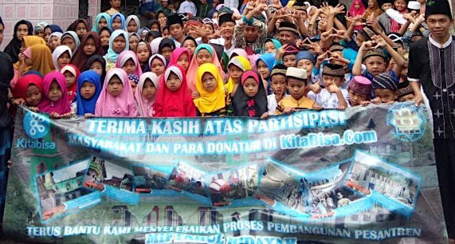 Bantu Renovasi Pesantren & Mesjid Miftahul Hidayah