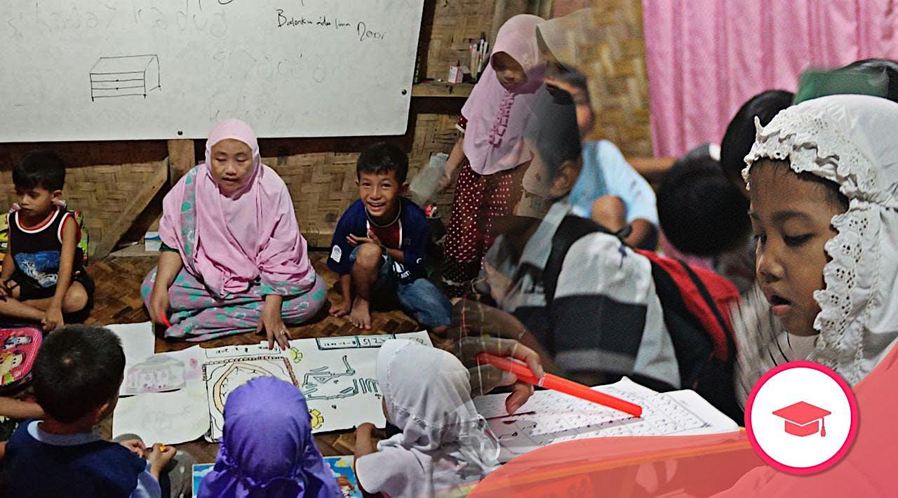Saung Belajar untuk Anak di Pelosok Banten