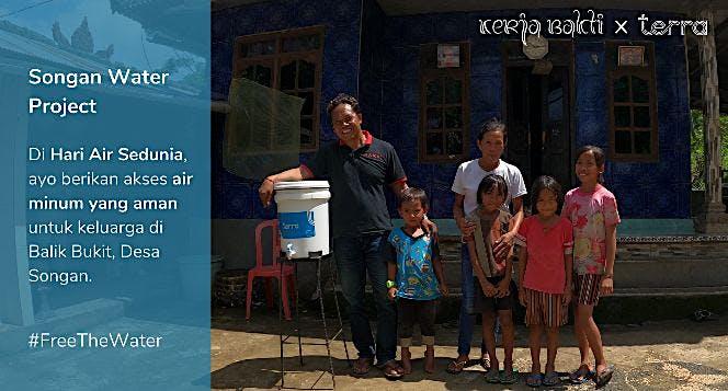 Akses Air Minum Aman untuk Desa Songan