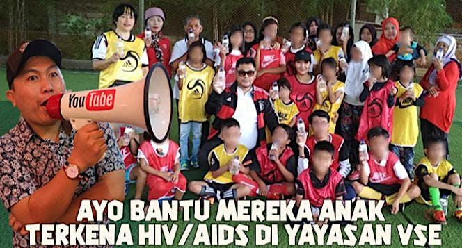 Bantu Yayasan Anak Kecil Terkena HIV dan AIDS
