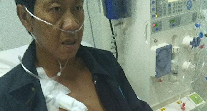 Bantu Amen gagal ginjal berobat  ke Kuching