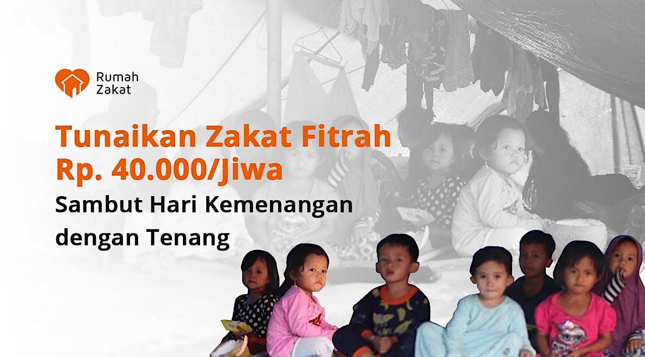 Zakat Fitrah untuk Warga Terdampak Bencana