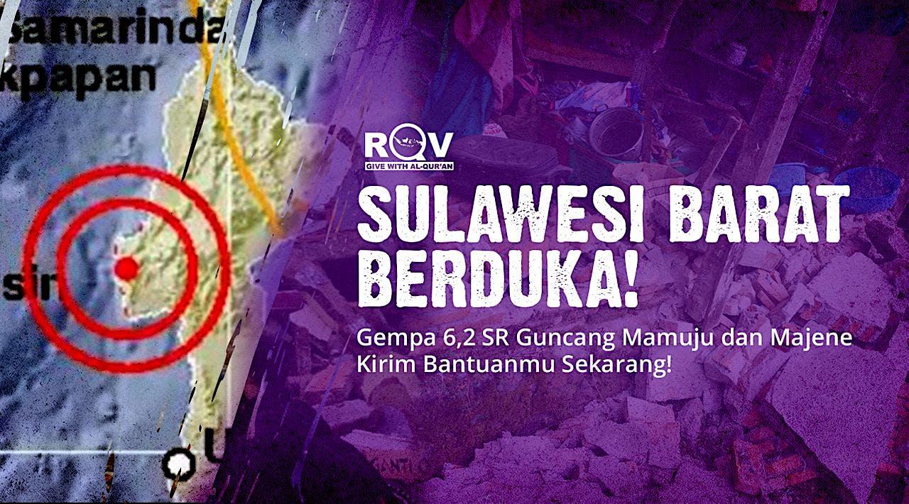 DARURAT!! Gempa Guncang Majene, Sulbar dan Sekitar