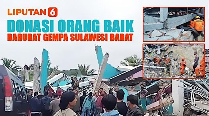 Donasi OrangBaik Darurat Gempa Sulawesi Barat