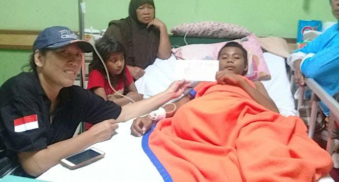 Bantu Difabel Korban Gempa Lombok Dan Sumbawa