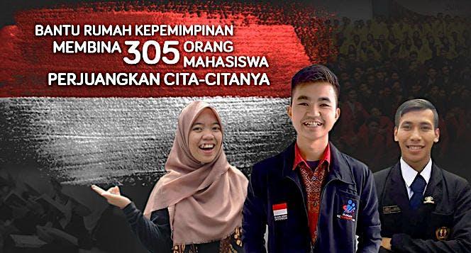 Bantu 305 Peserta Rumah Kepemimpinan Bangun Bangsa