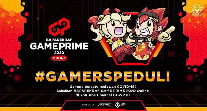 Bersama Game Prime Lawan Corona