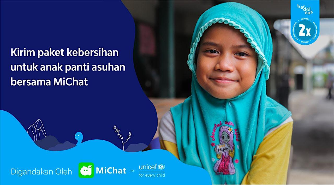 MiChat Dukung UNICEF Lindungi Anak Dari COVID-19