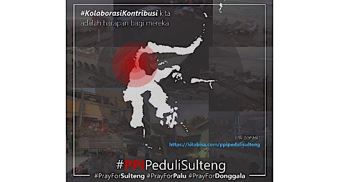 PPI Peduli Sulawesi Tengah