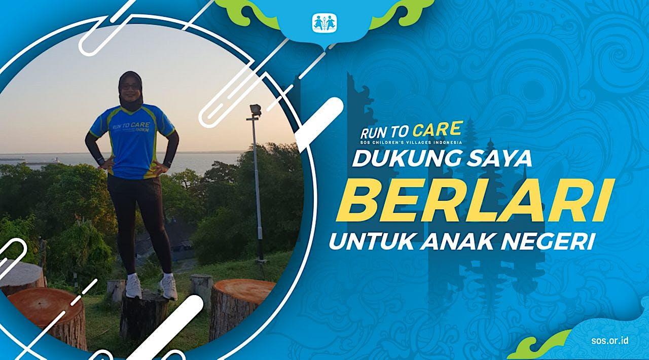 Resti berlari 150KM untuk Mimpi Anak Indonesia