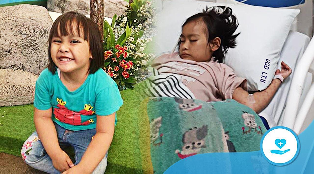 Kasih untuk Selamatkan Rafifah dari Leukimia Ganas