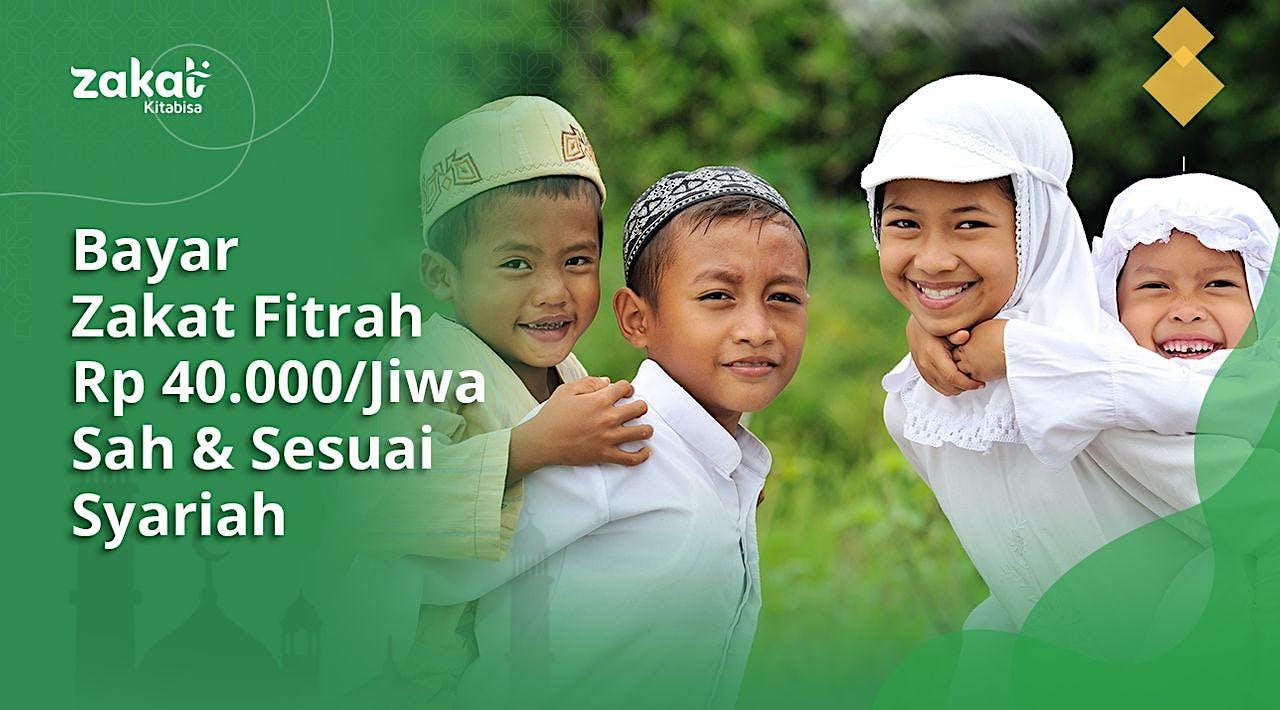 Bayar Zakat Fitrah Rp40.000/Jiwa di Ramadhan 2021