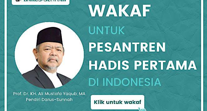 Mari Wakaf Bersama Kami di Yayasan Darus-Sunnah