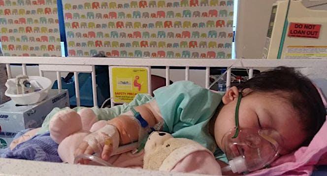 Bantu Baby Kim untuk bisa kembali sehat