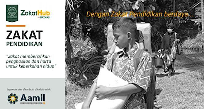 Zakat untuk Santri Dhuafa Darul Funun