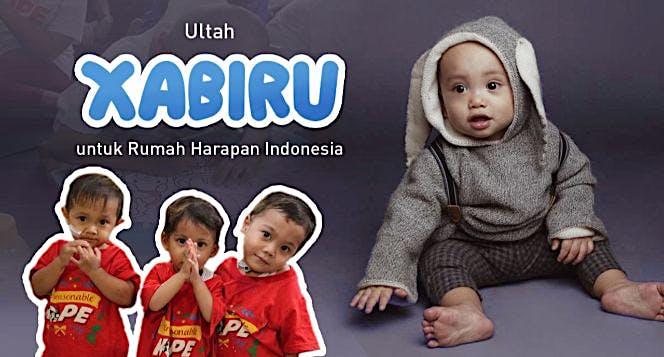 Ultah Xabiru untuk Rumah Harapan Indonesia