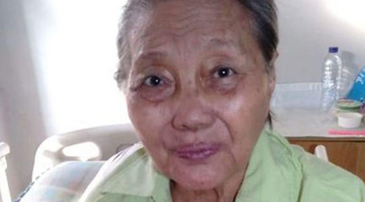 Oma Margaretha, Sebatang Kara Lawan Kanker Tulang