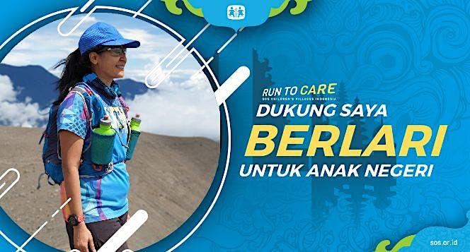 Sukma Berlari 150KM untuk Mimpi Anak Indonesia