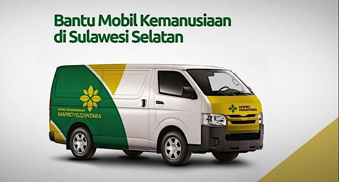 Mobil Kemanusiaan Wapro Nusantara