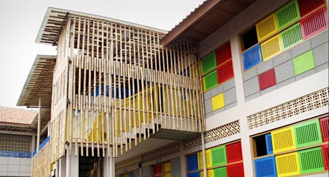 Dinding Baru Rumah Pintar Cikeas