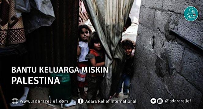 Ringankan Beban Keluraga Miskin Palestina