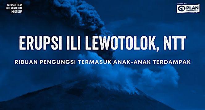 Bantuan Pengungsi Erupsi Gunung Ili Lewotolok