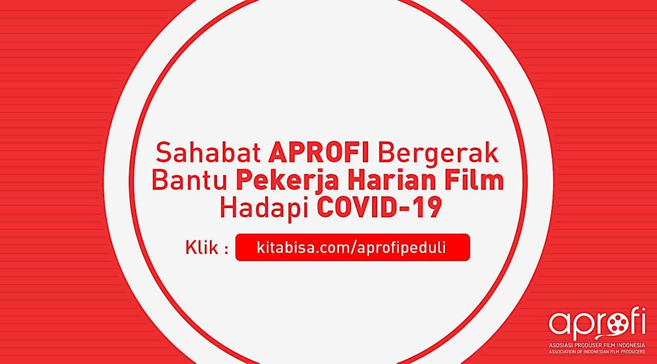 Sahabat APROFI Bergerak Bantu Pekerja Harian Film