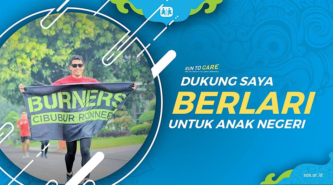 M Abdul Berlari 150KM untuk Mimpi Anak Indonesia