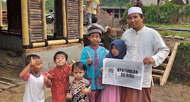 Bangun Pesantren Tahfiz Gratis di Garut Jawa Barat