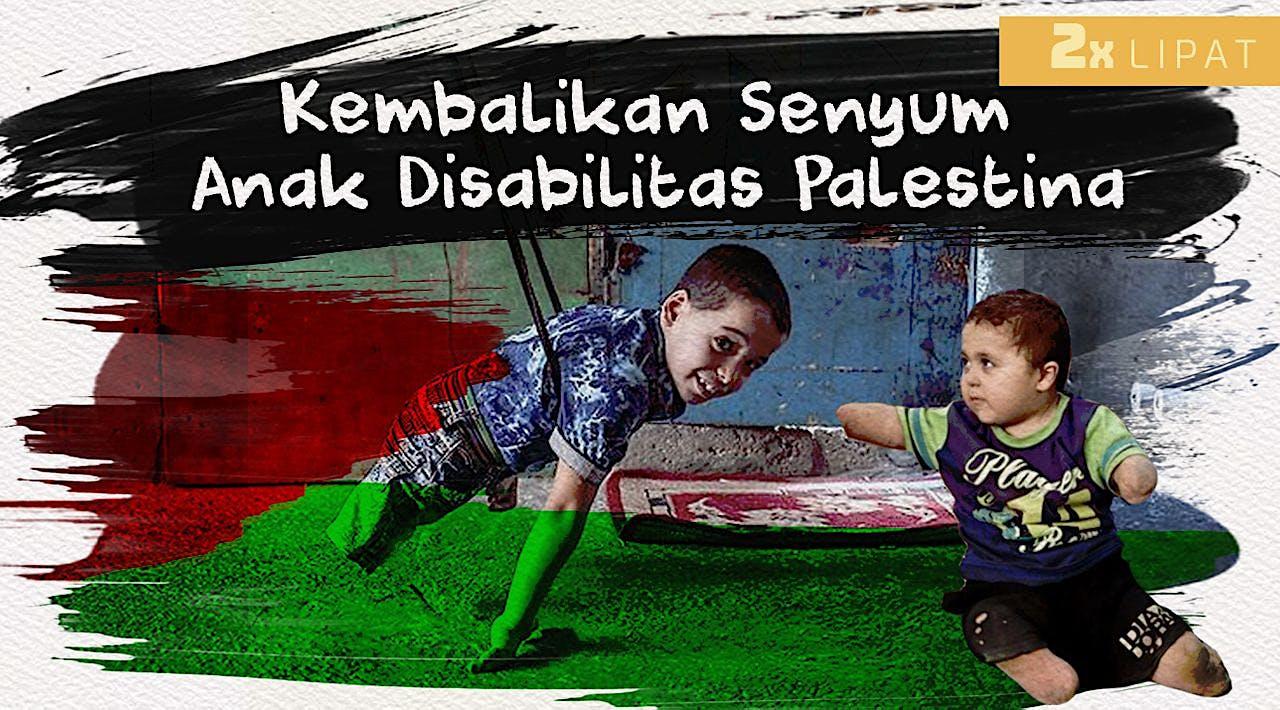 Bantu Ribuan Penyandang Disabilitas di Palestina