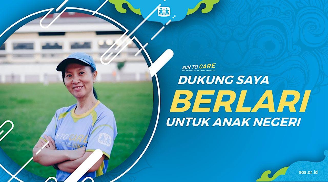 Indriati Berlari 150KM untuk Mimpi Anak Indonesia