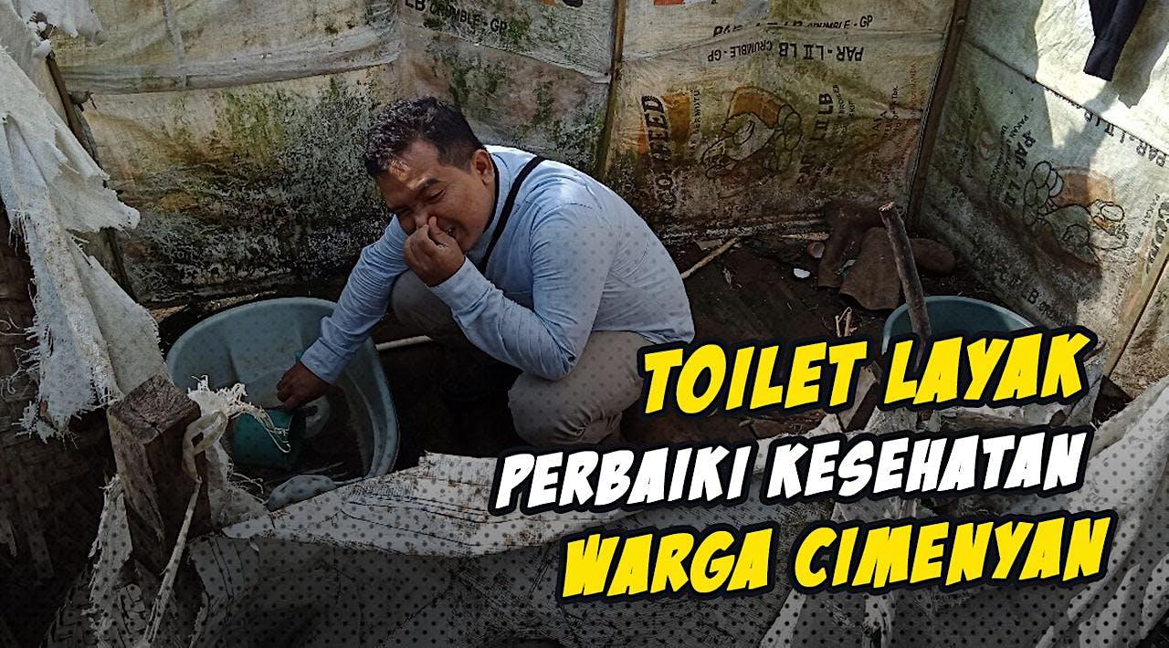 Bangun 30 Toilet Untuk Warga Pedesaan Cimenyan