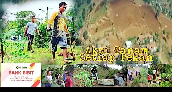 Donasi Bibit untuk Petani Cimenyan Bandung