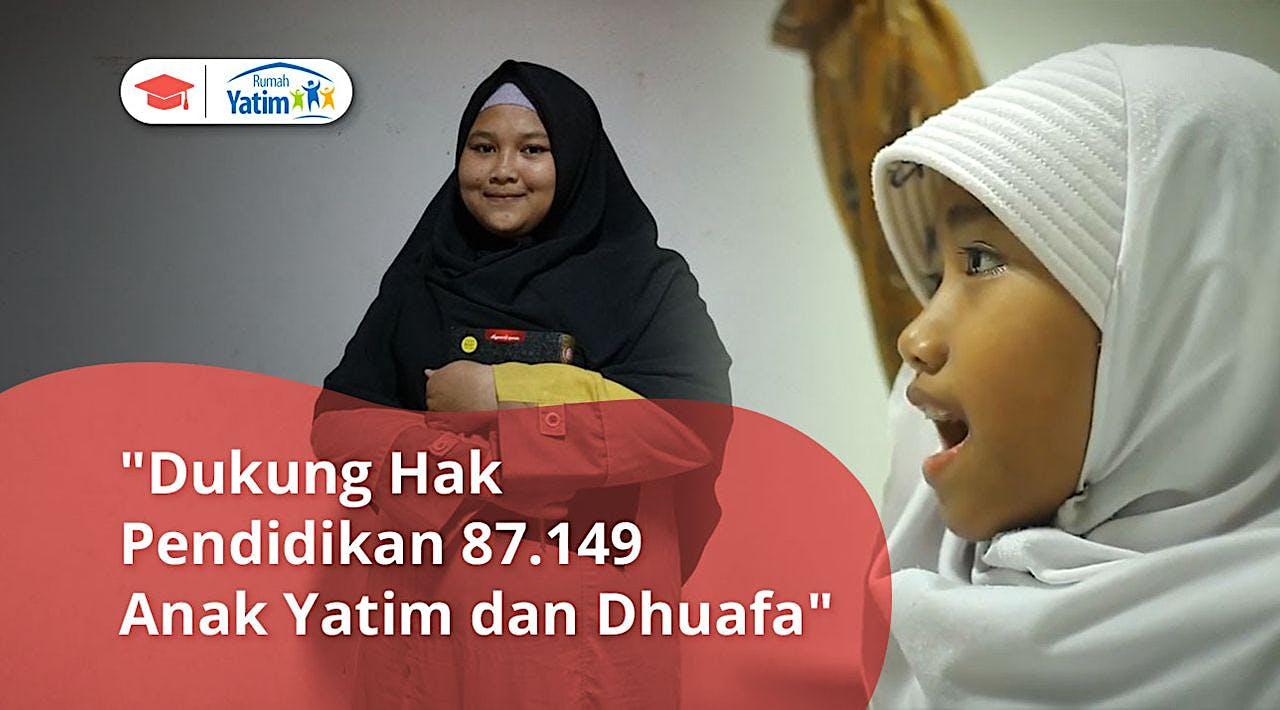 Rumah Belajar untuk Yatim Dhuafa