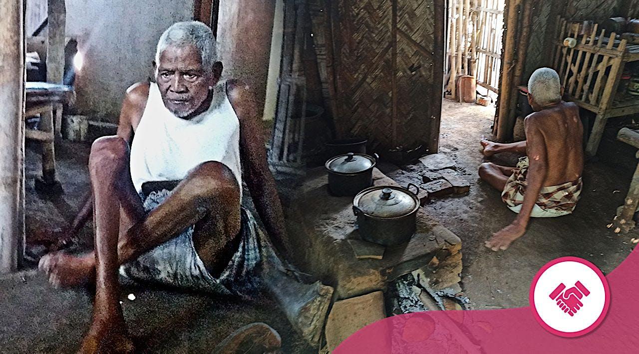 Kakek Sebatang Kara, Jalan dengan Pangkal Paha